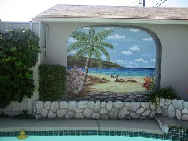 painted wall mural designs