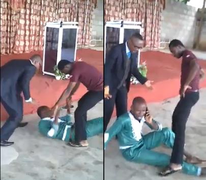 Homem atende celular durante exorcismo e irrita pastor