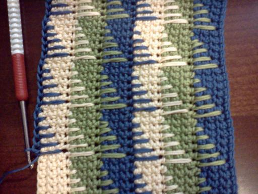 Yarntails Crochet Learning The Spike Stitch