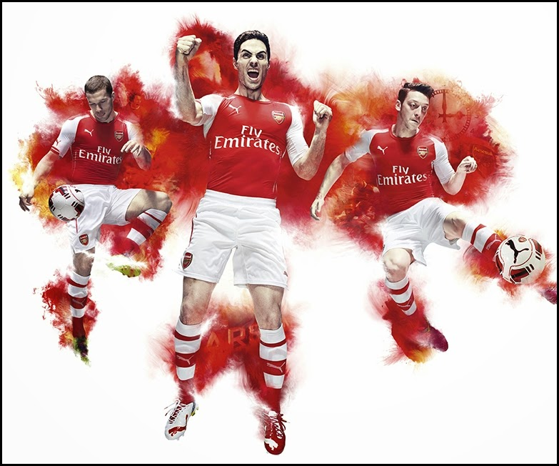 Arsenal Puma home kit