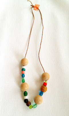 Wooden Bead DIY Necklace