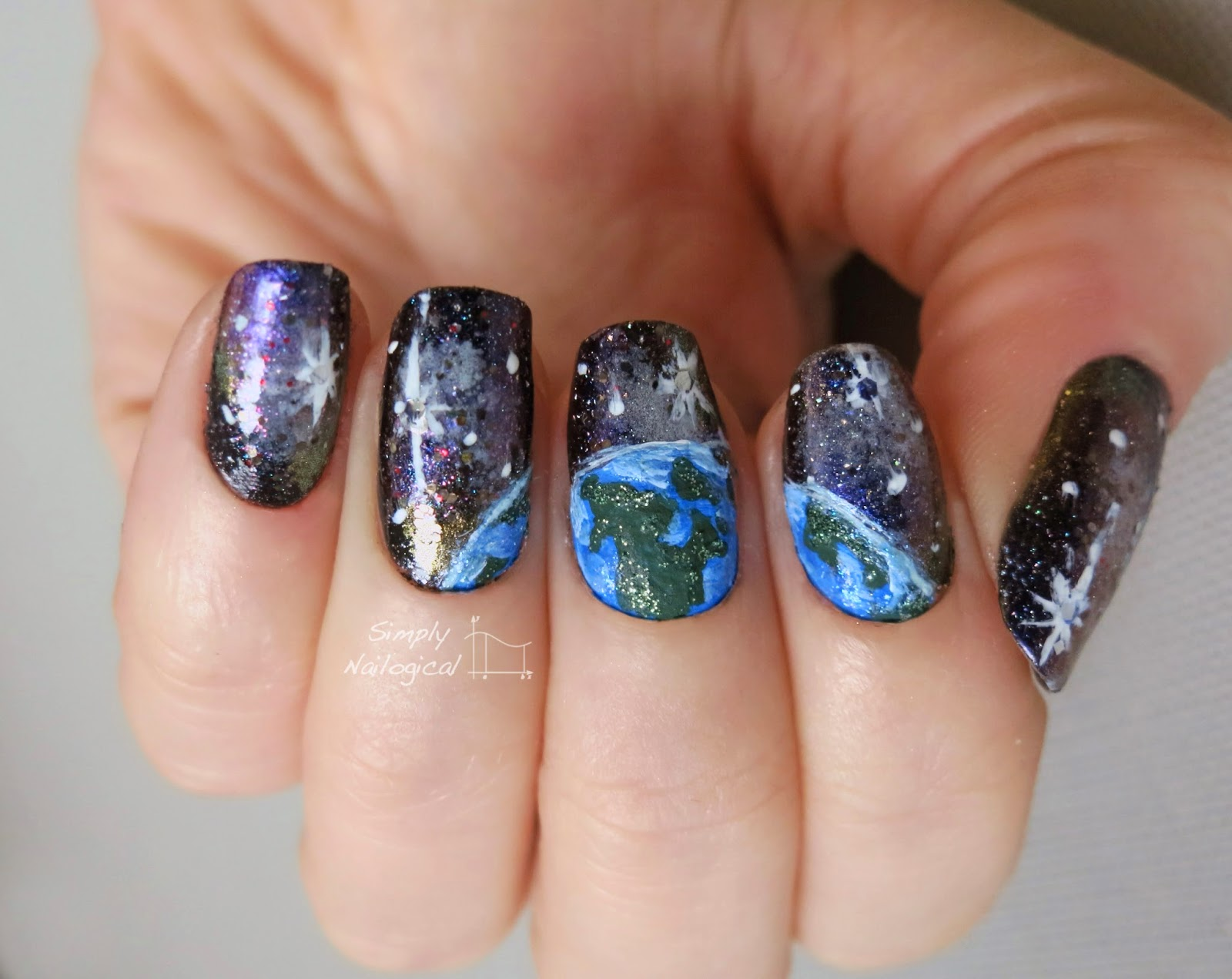 Simply Nailogical: Earth spotted in a galaxy