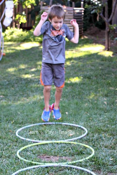 Gross Motor Activity Hula Hoop Games Learn Play Imagine