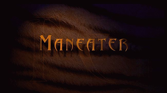 Maneater 2007 title screen