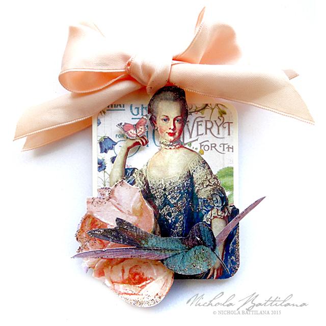 Marie Antoinette ATC Tags - Nichola Battilana