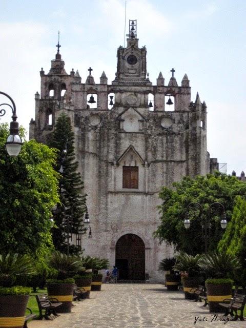 Convent Atlatlahucan Morelos Mexico