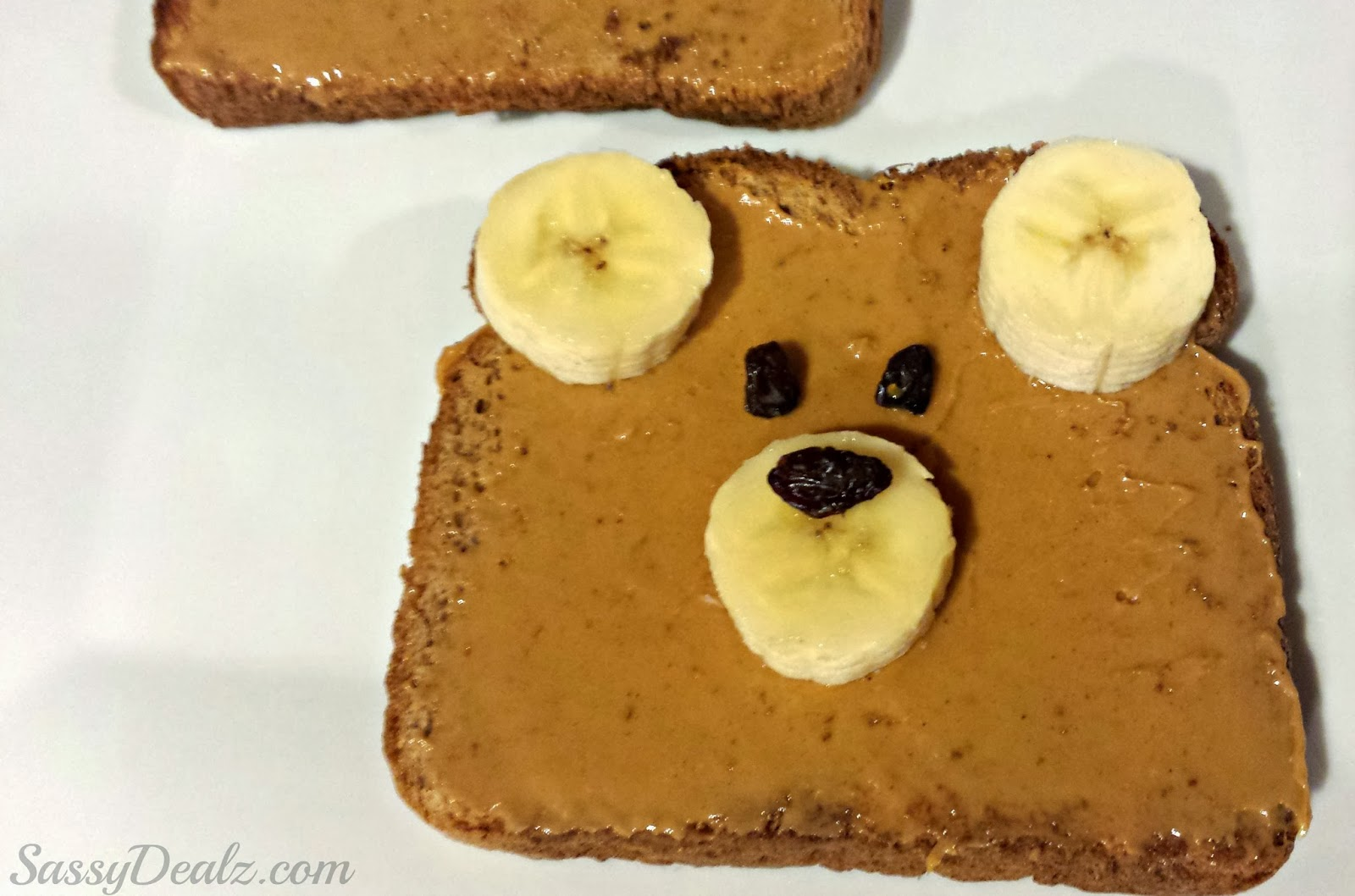 teddy bear toast kids breakfast