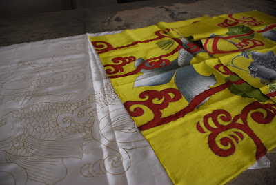 Silks batik from Quarzia in Bali