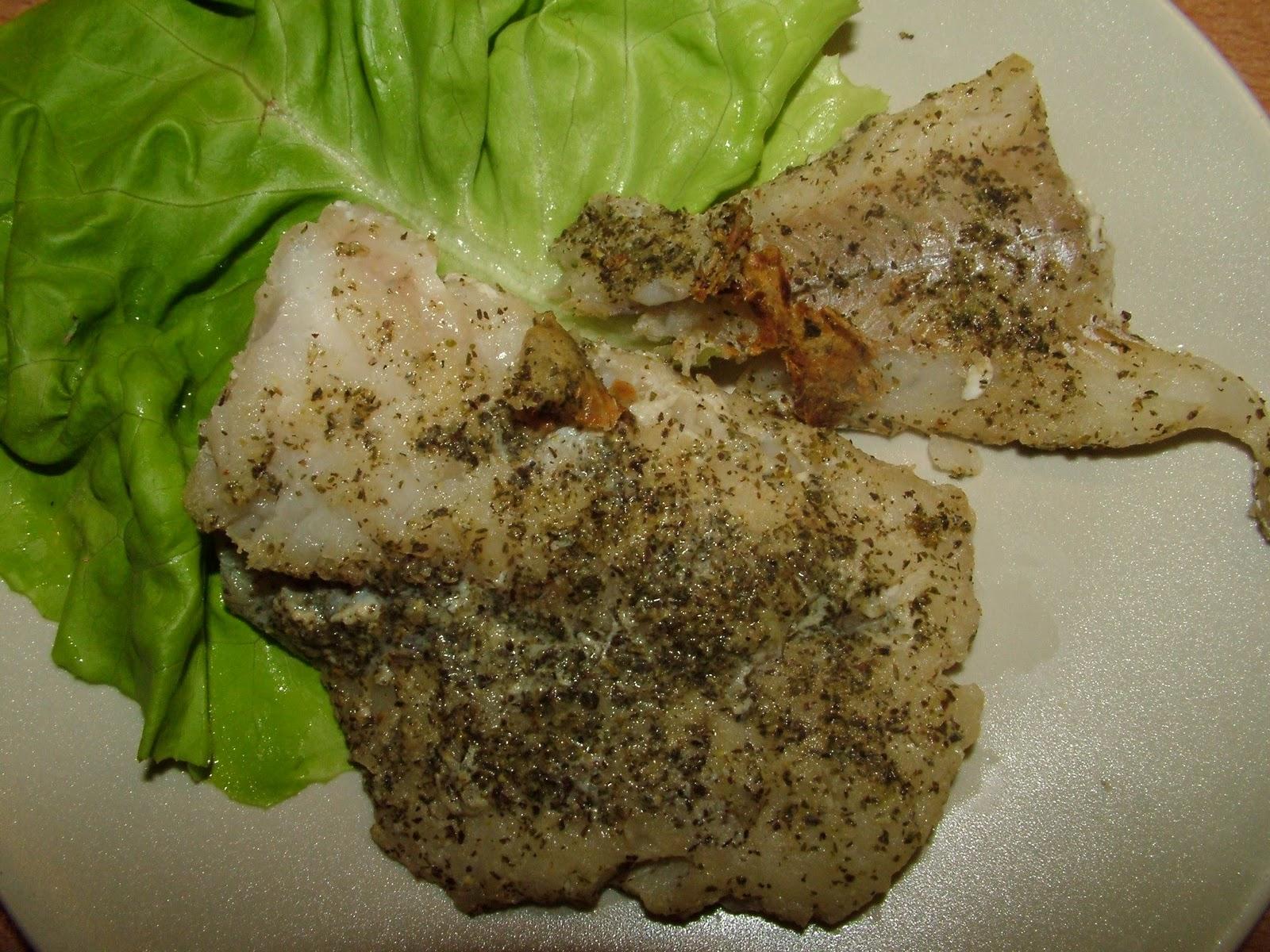 Filety rybne smażone