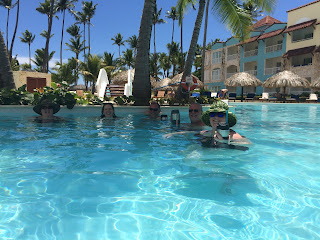 adults only swimming pool at the royal suites turquesa in punta cana