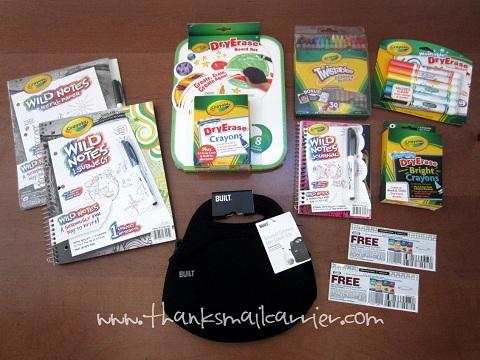Kraft Crayola prize pack