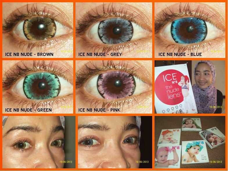 Review Softlens Ice N8 Nude Lens
