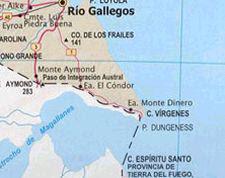cruce por aguas argentinas TDel Fuego-Rio Gallegos