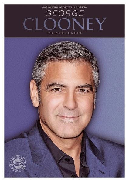 Calendario George Clooney 2015