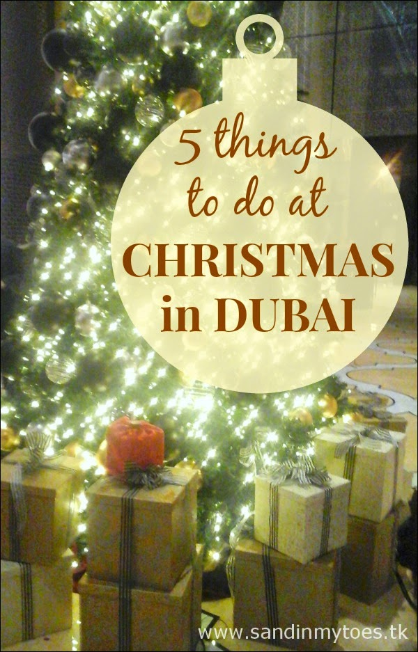 Five things to do at Christmas in Dubai