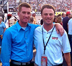 ESPN's Marty Smith and The Drive's Taylor Zarzour
