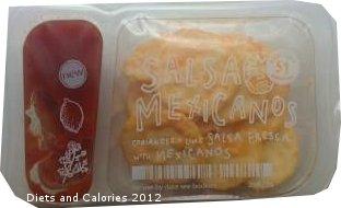Graze snack Salsa Mexicanos