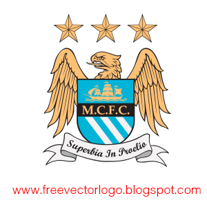 Manchester City FC logo vector