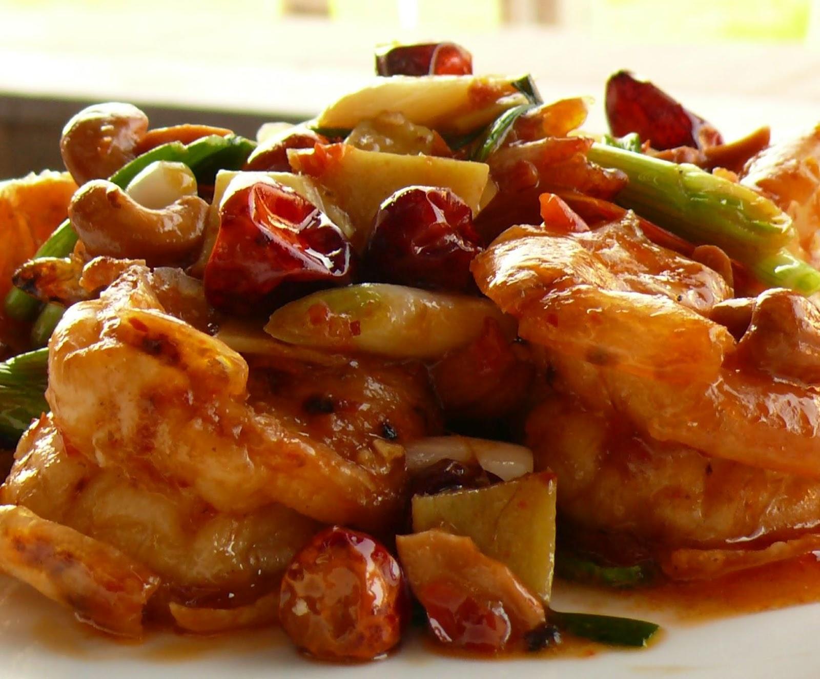California Girl's Southern Fried Fusion: Sweet Chili Thai Shrimp