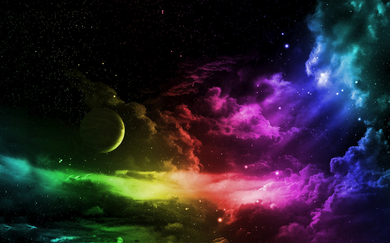 Colorful Outer Space