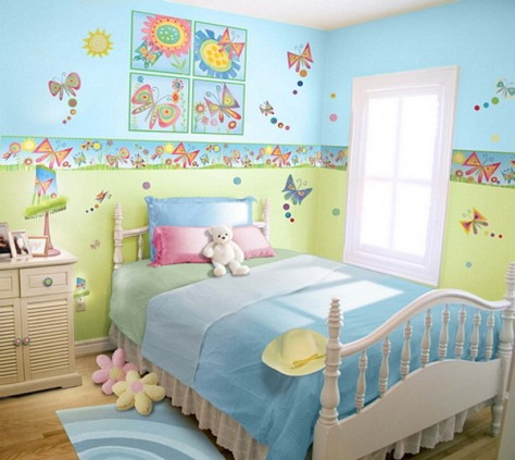 Girls Room Decor Butterfly