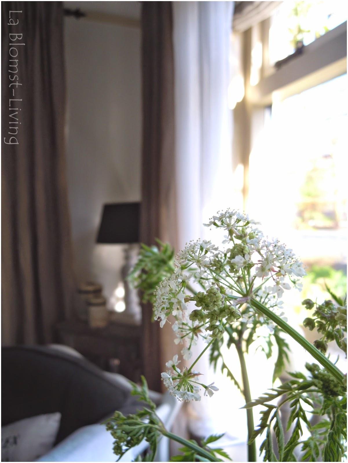 La Blomst-Living: Nieuwe gordijnen