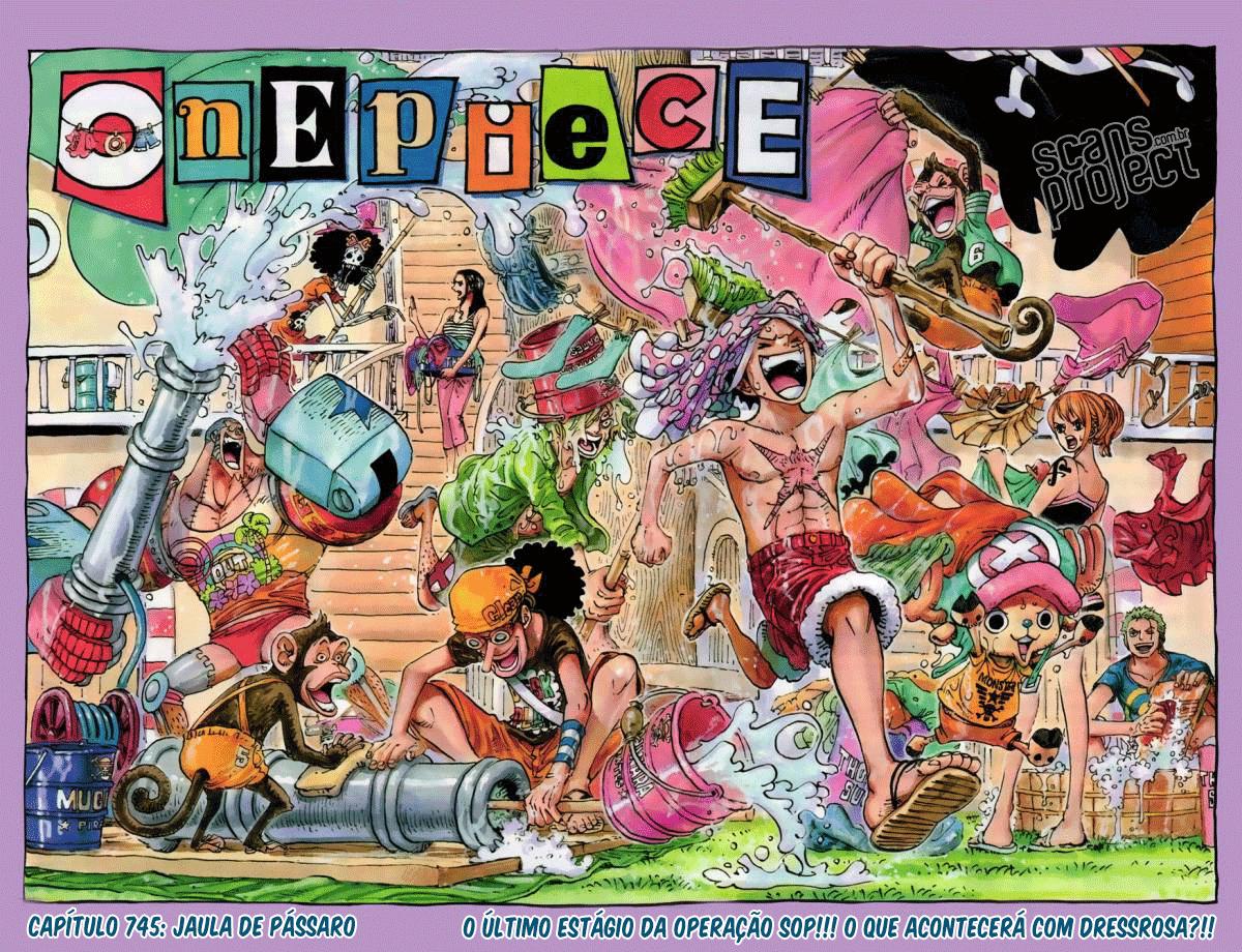 One Piece 745 Português Mangá leitura online