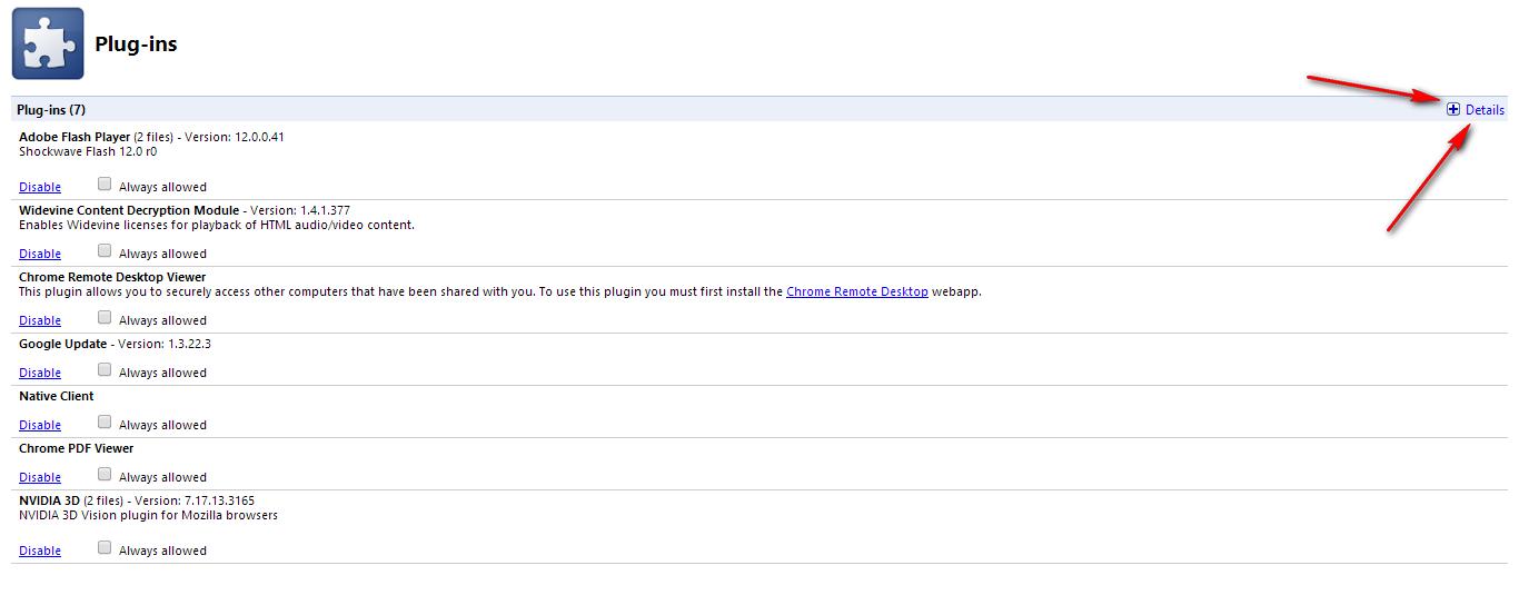 حل مشكلة Shockwave في متصفح جوجل كروم