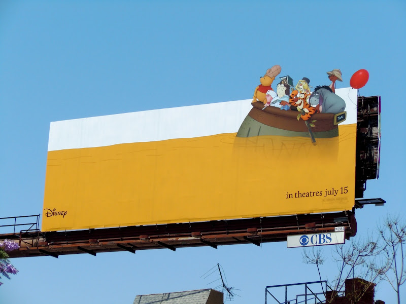 Winnie the Pooh movie billboard