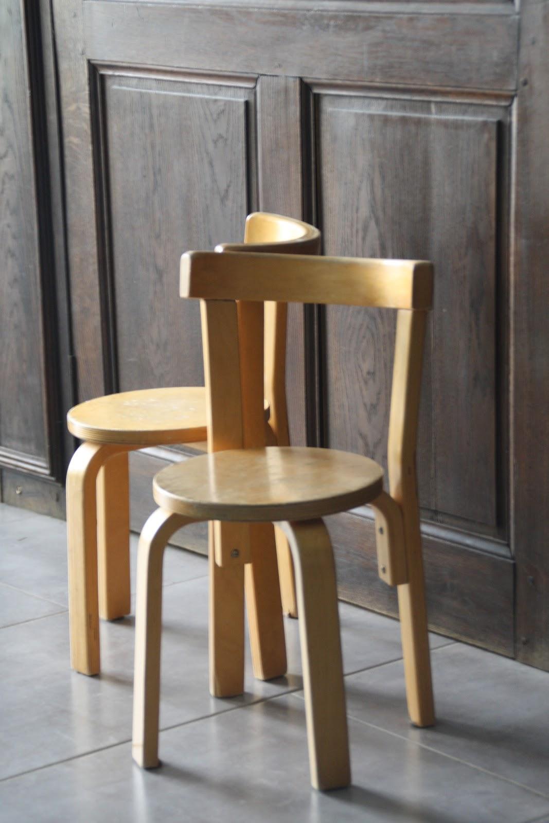 le beau est mien chaises vintage alvar aalto vintage ann e 30. Black Bedroom Furniture Sets. Home Design Ideas