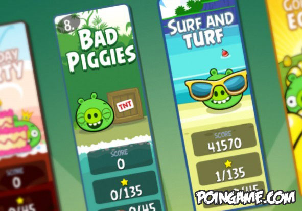 Angry Birds 3.0 Birth Party Full with Bad Piggies