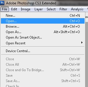 Mengatur Menu Photoshop