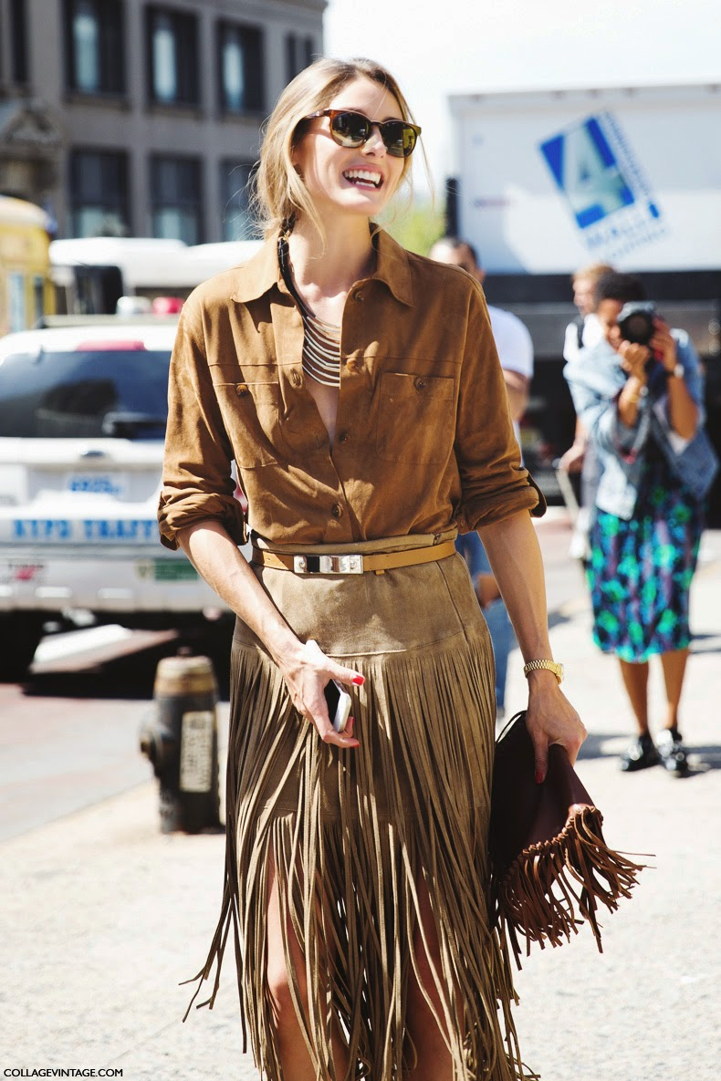The Olivia Palermo Lookbook New York Fashion Week Spring