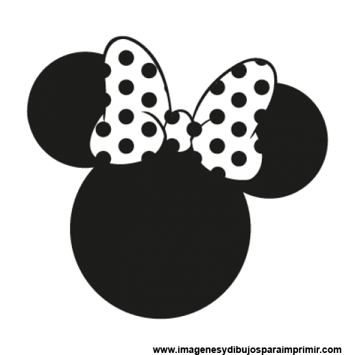 imagenes minnie mouse-Imagenes y dibujos para imprimir