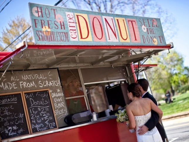 21 Insanely Fun Wedding Ideas - Have a Food Truck at Your Reception