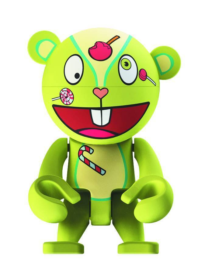HAPPY TREE FRIENDS NUTTY TREXI NAUGHTY AND NICE EDITION VINYL FIGURE PRE-SALE