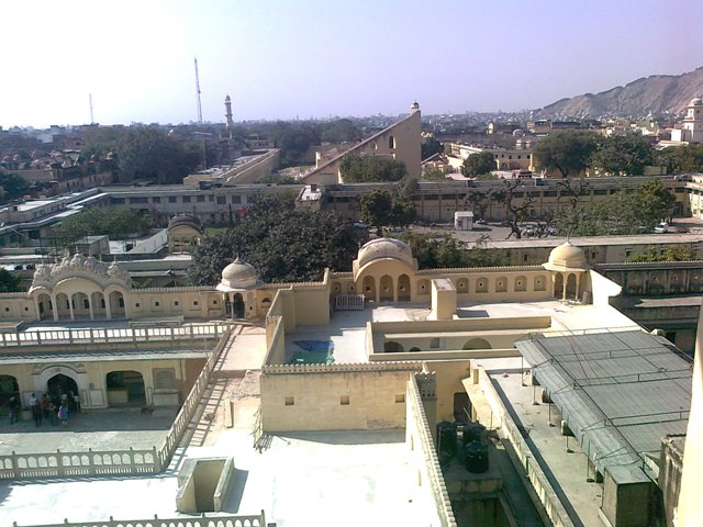 hawamahal jaipur city view