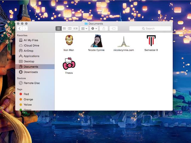 Nicole Cynnie | Mac's Folder Icon With Any Image