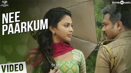 Thiruttuppayale 2 Songs   Nee Paarkum Song with Lyrics   Bobby Simha, Amala Paul   Vidyasagar