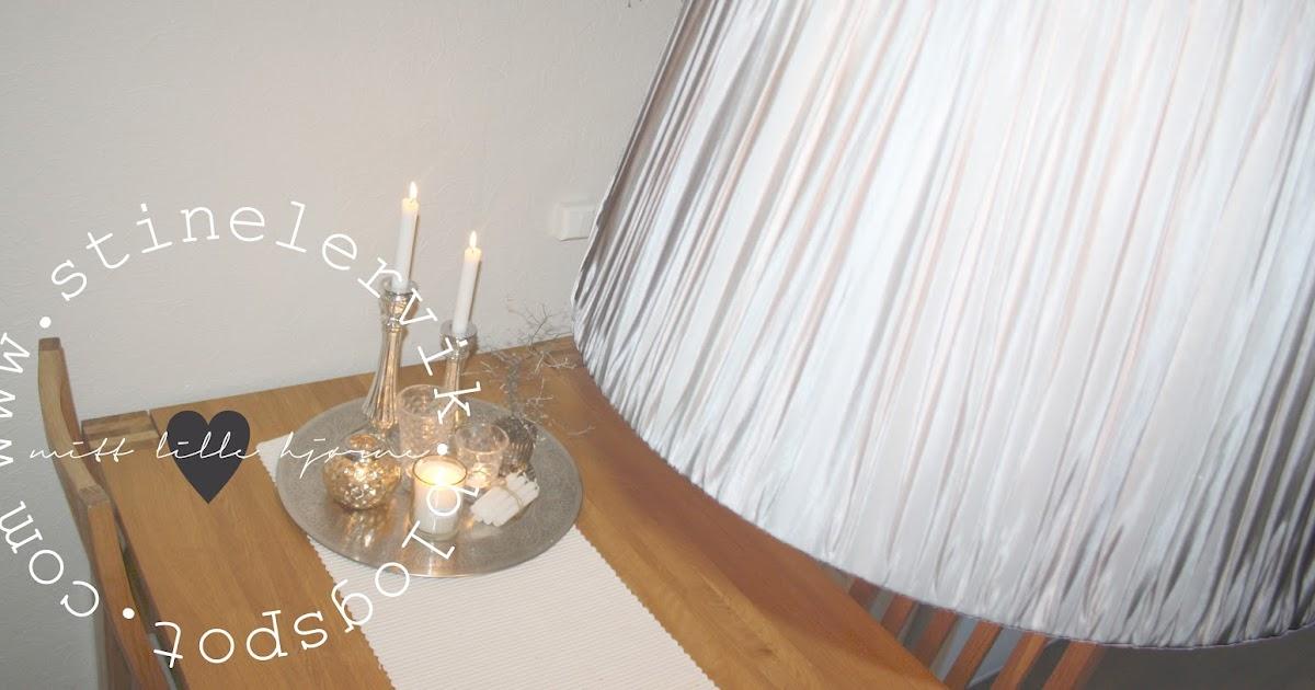 Stine lervik   mitt lille hjørne♥: lampeskjerm fra tinek