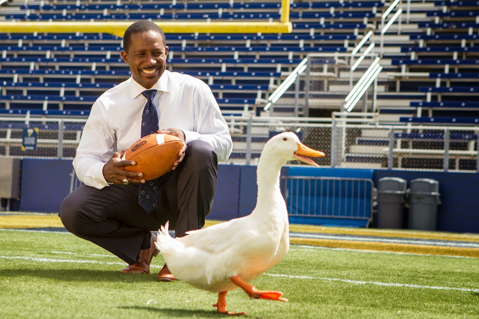 Desmond Howard Aflac Duck