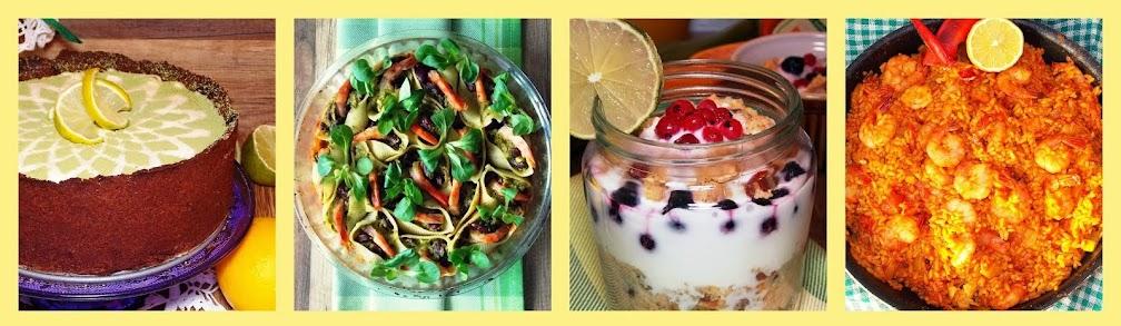 Jedz kolorowo -najlepsze przepisy kulinarne dla wymagających