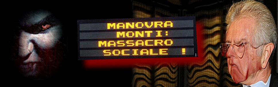 Premiata macelleria sociale Monti & C.