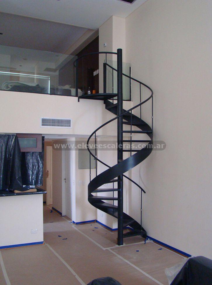 Metal oeste barandas y escaleras for Ver escaleras de caracol