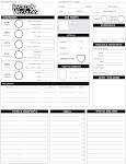 Swords & Wizardry Character Sheet
