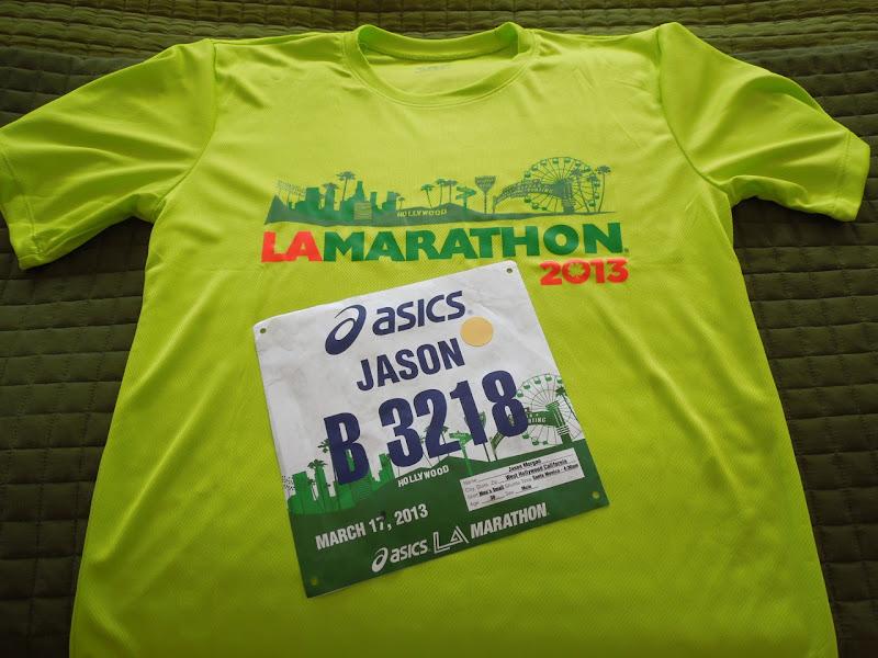 LA Marathon 2013 tshirt