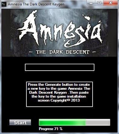 Trucchi del gioco amnesia the dark descent generatore di for Generatore di casa virtuale gratuito