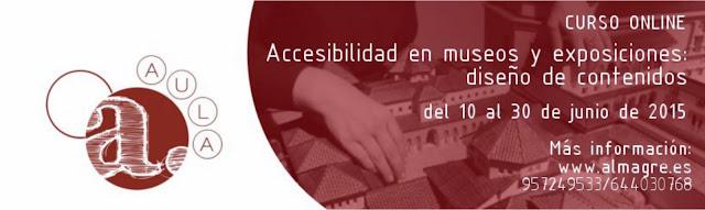 Contenido del texto: del 10 al 30 de junio de 2015. Más información www.almagre.es Teléfonos: 957249533 y 644030768.