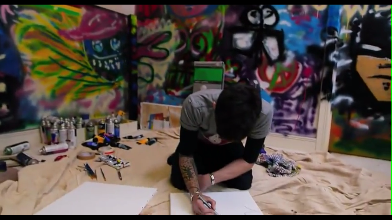 Zayn malik graffiti wall -  Would Be Like No Way You Re Not Spray Painting On My Walls I Don T Think So Got My House Im Like Course Im Spray Painting The Wall Zayn Malik