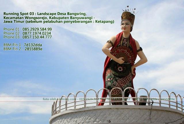Running Spot 03 : Landscape Desa Bangsring, Kecamatan Wongsorejo, Kabupaten Banyuwangi - Jawa Timur | Foto oleh : KLIKMG Fotografer Banyuwangi